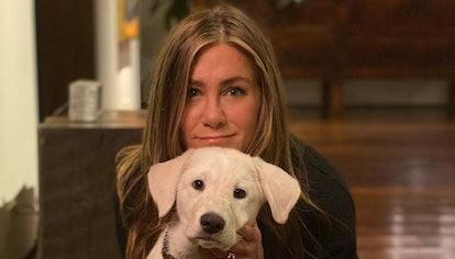 Jennifer Aniston has blonde hair now.