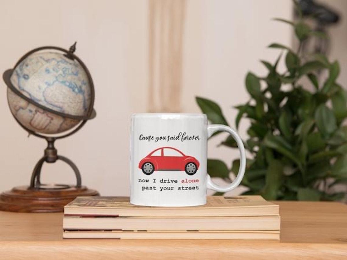 Olivia Rodrigo 'Drivers License' Lyric Mug