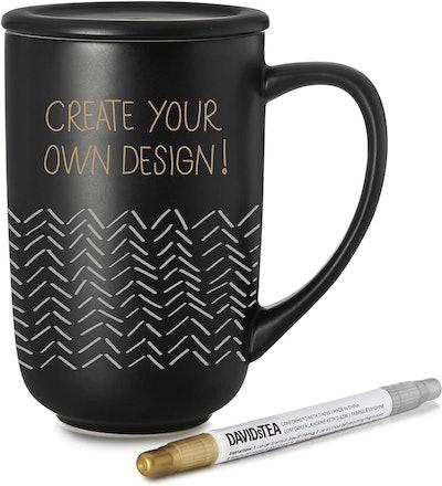 DAVIDsTEA Customizable Mug Kit
