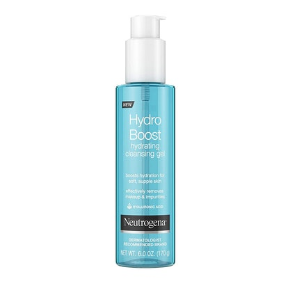 Neutrogena Hydro Boost Lightweight Hydrating Facial Cleansing Gel