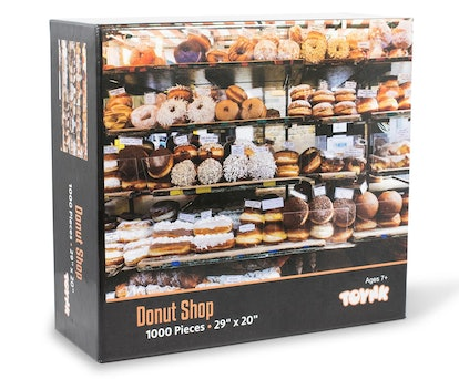 Donut Shop Bakery Puzzle For Adults And Kids | 1000 Piece Jigsaw Puzzle