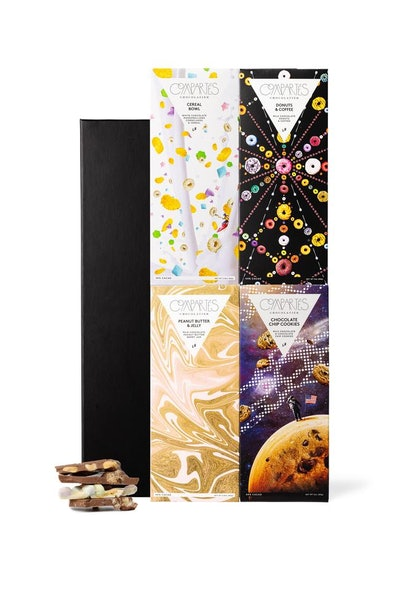 Nostalgic Gourmet Chocolate Bar 4-pack