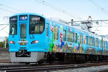 Super Nintendo World train 2