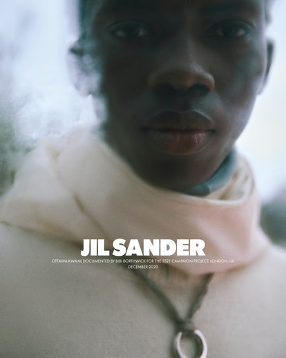 Jil Sander presents the theme of touch for its Spring/Summer 2021 Campaign.