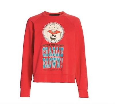 Peanuts x Marc Jacobs The Charlie Bro Graphic Sweatshirt