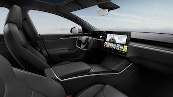 Tesla Model S Interior 2021