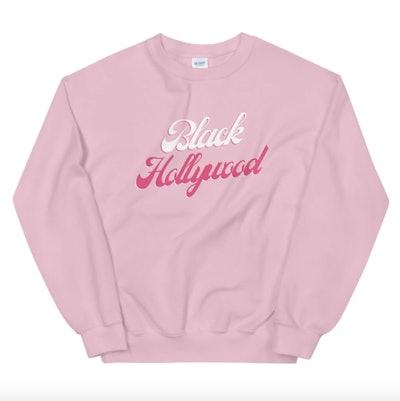 Black Hollywood Sweatshirt