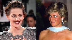 Kristen Stewart channels Princess Diana in the upcoming biopic 'Spencer.'