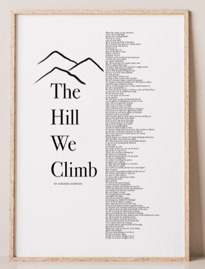"Amanda Gorman ""Hill We Climb"" Poem"