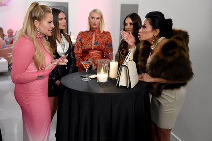 Heather Gay, Meredith Marks, Whitney Rose, Lisa Barlow, and Jen Shah in 'The Real Housewives of Salt Lake City' via Bravo's press site