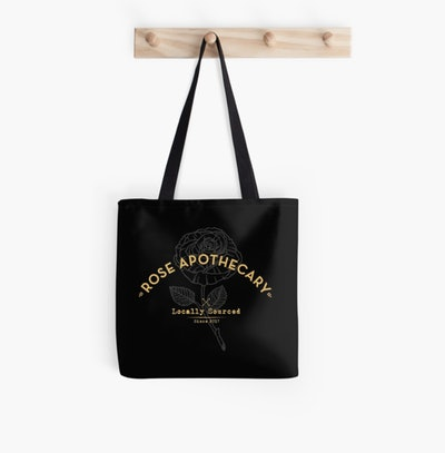 Rose Apothecary Schitt's Creek Tote Bag