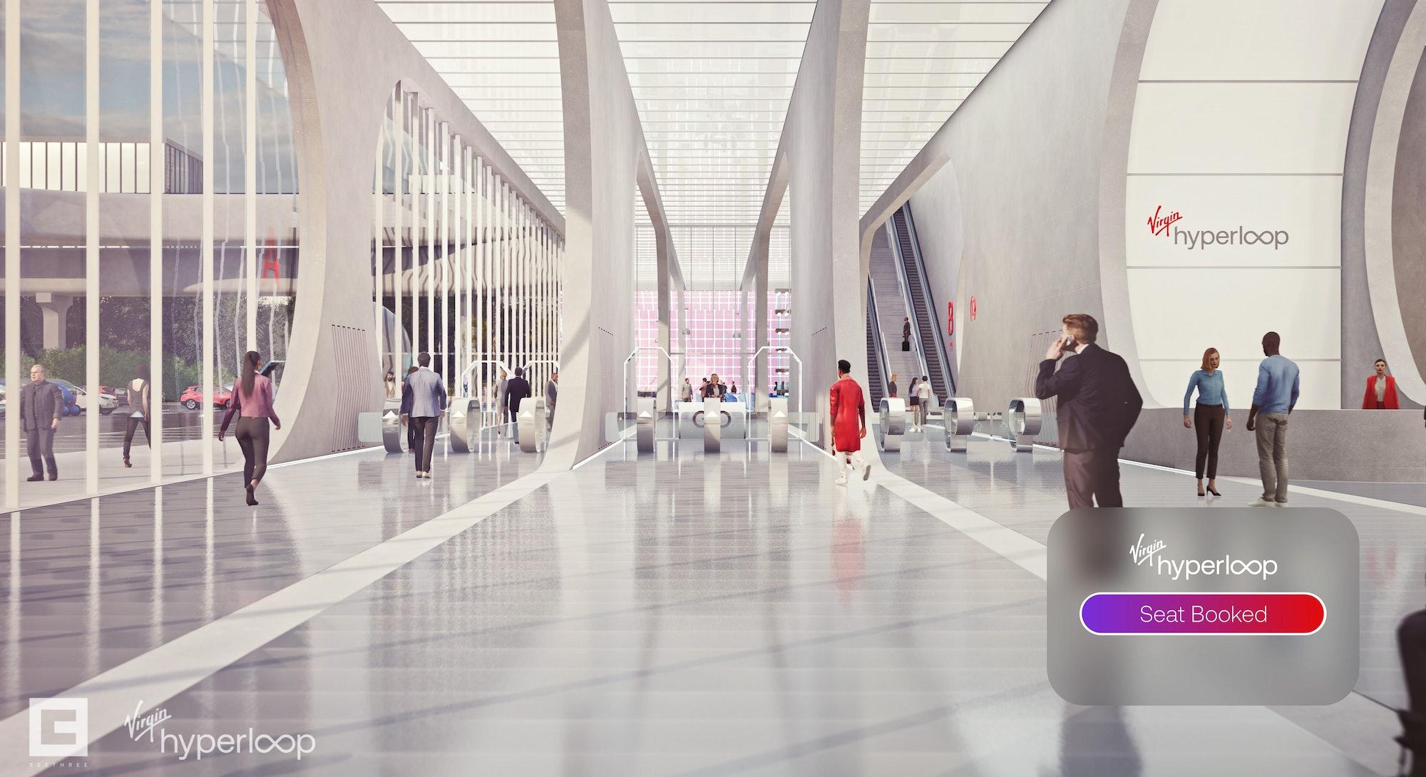virgin hyperloop terminal