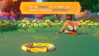 ring fit adventure dragaux dark influence