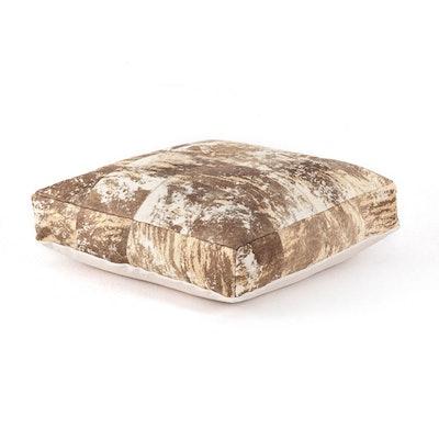 Harland Modern Hide Floor Cushion