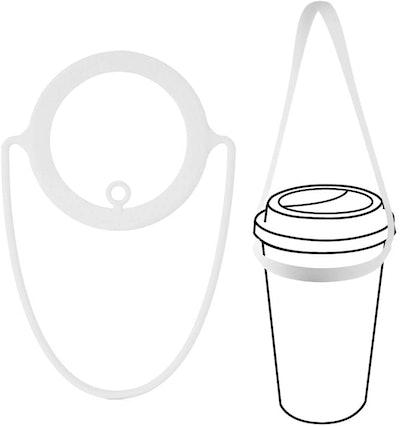 Bone Portable Cup Tie Carrier