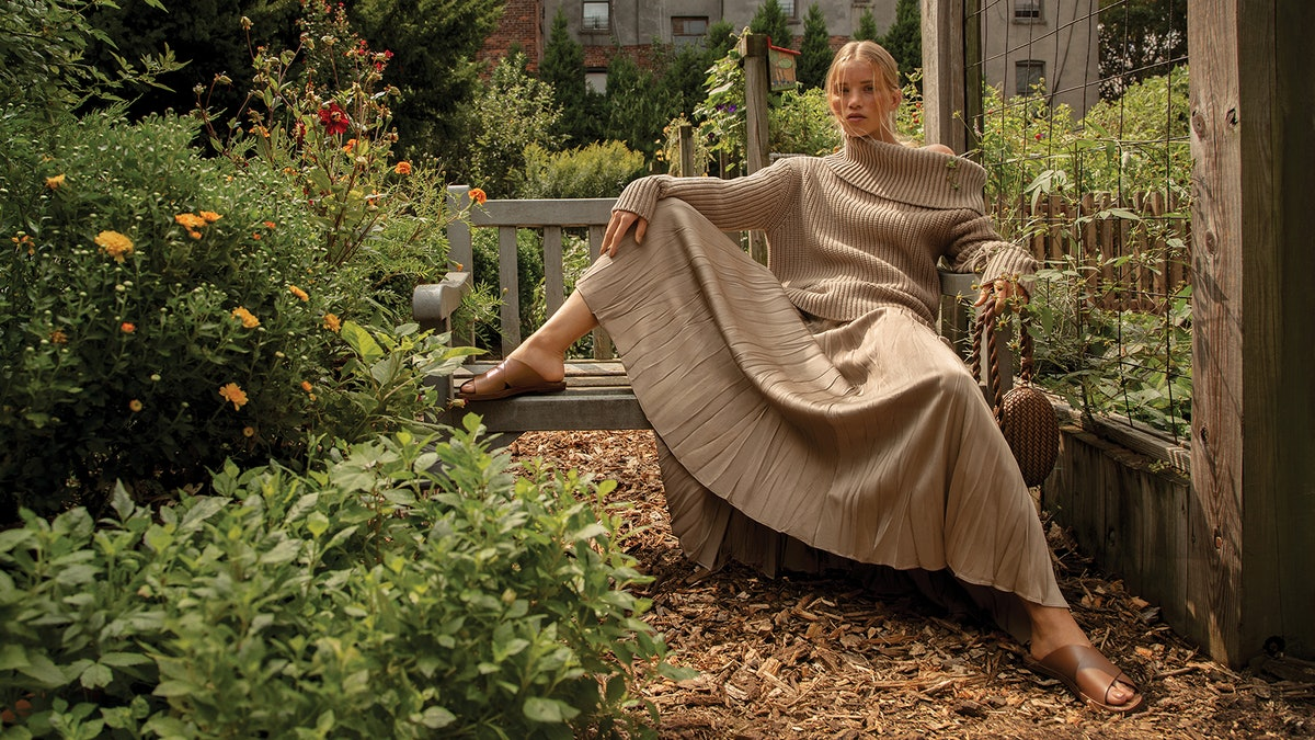 Michael Kors' Spring/Summer 2021 Campaign takes place in the New York Restoration Project Bronx Comm...