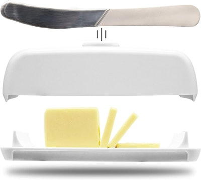 Butter Hub Butter Dish with Lid and Knife