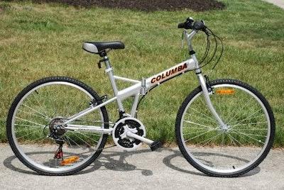 Columba 26-inch 18-Speed Folding Bike