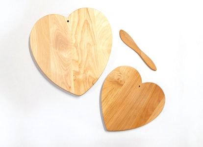 Handmade Heart Serving Board