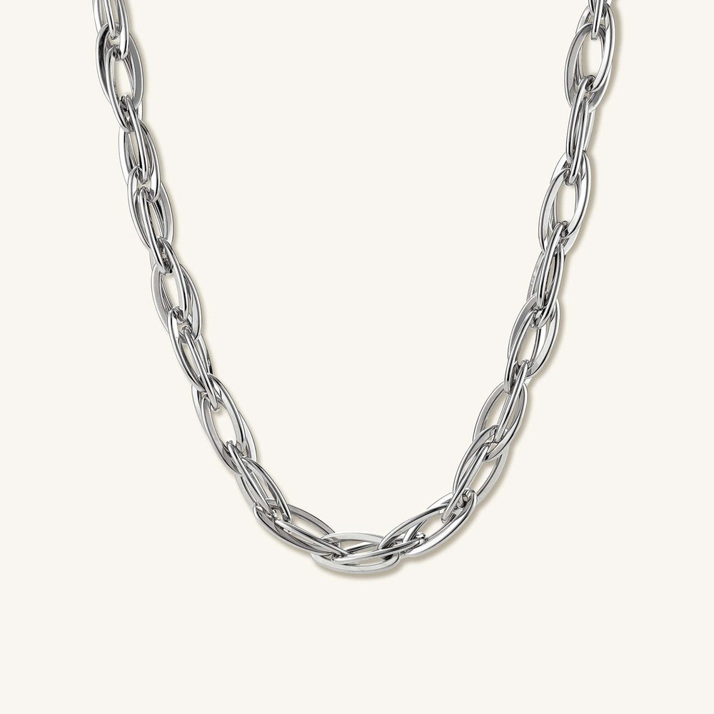 Double Oval Link Chain
