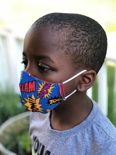 KeeleyStudio Children's Reversible Face Mask