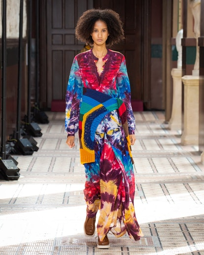 One of the biggest spring/summer 2021 trends is multi-colored designs.