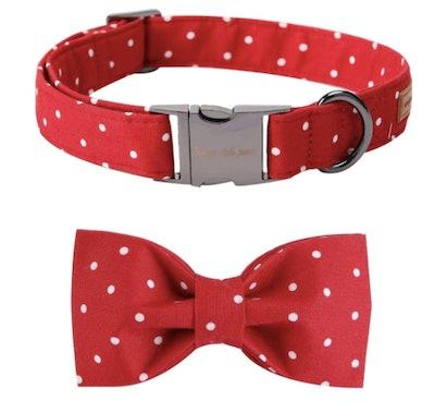 Comfy Bowtie Dog Collar
