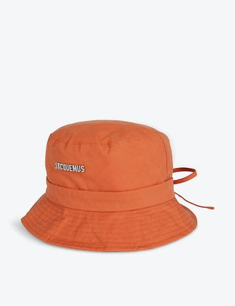 Le Bob Gadjo Cotton-Poplin Bucket Hat