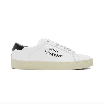 White Court Classic Sneakers