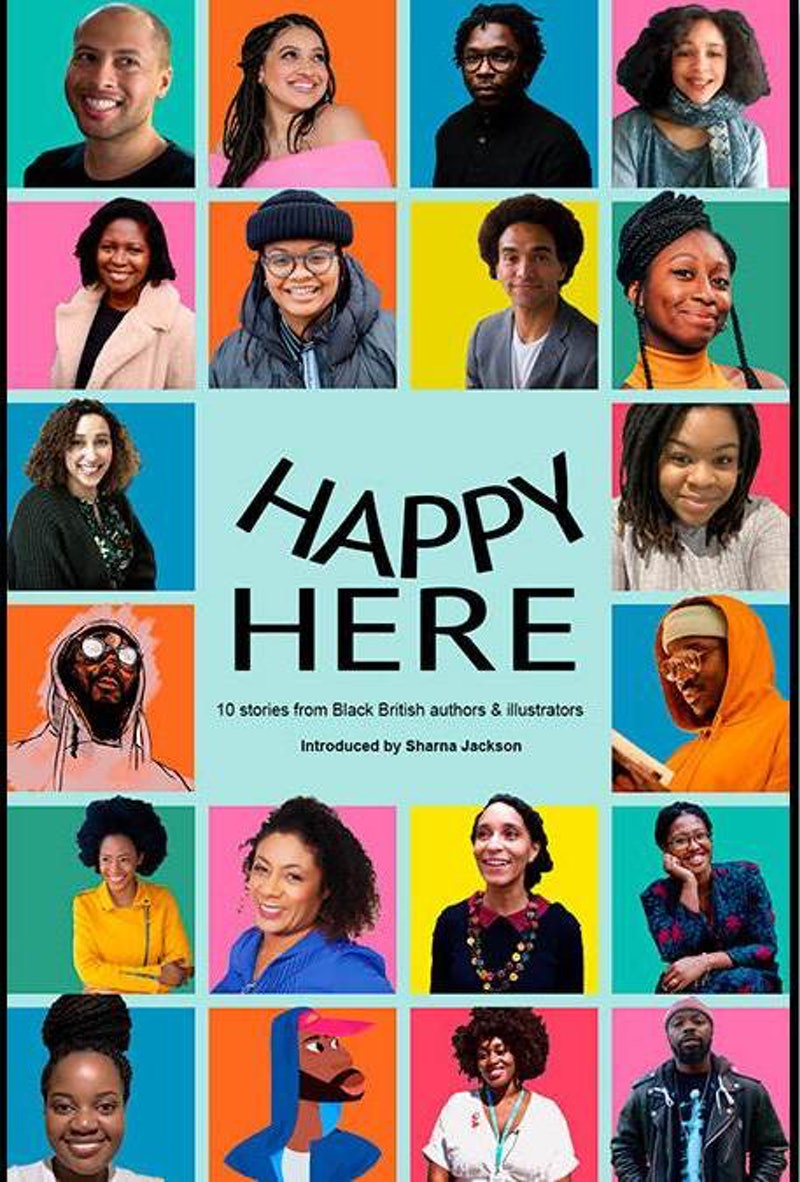 BookTrust are publishing 'Happy Here', an anthology of Black writers