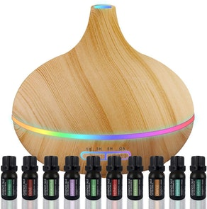 Pure Daily Care Ultimate Aromatherapy Diffuser & Essential Oil Set
