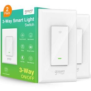 Gosund 3-Way Light  Smart Switches (2-Pack)