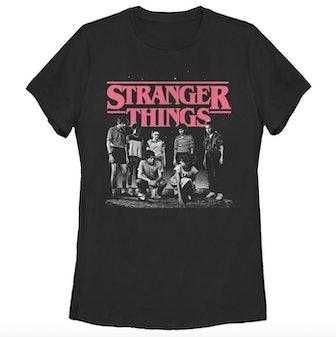 Stranger Things Black T-shirt