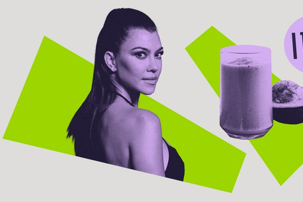 Kourtney Kardashian and her keto avocado smoothie