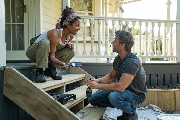 Christina Milian stars in the Netflix original film, 'Can't Help Falling Inn Love'.