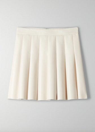 Vegan Leather Miniskirt