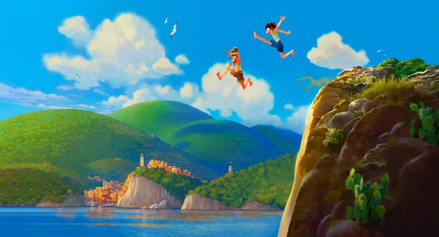 Disney and Pixar's new movie 'Luca' is set in Italy.