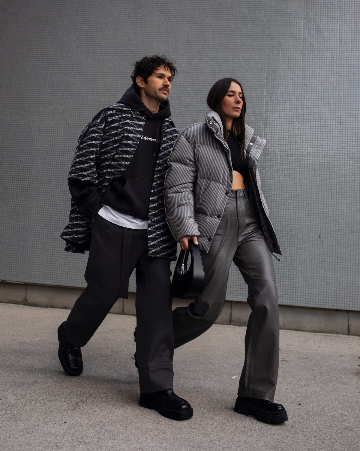 Alice Barbier and js Roques street style.