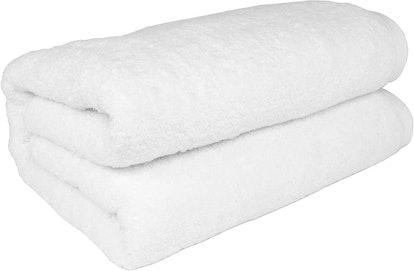 SALBAKOS Turkish Cotton Oversized Bath Towel