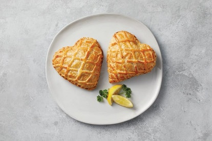 Aldi is selling heart-shaped salmon en croute for Valentine's Day 2021.
