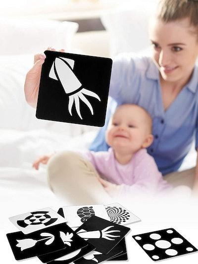 Blulu Black White Flash Cards (24-Pack)