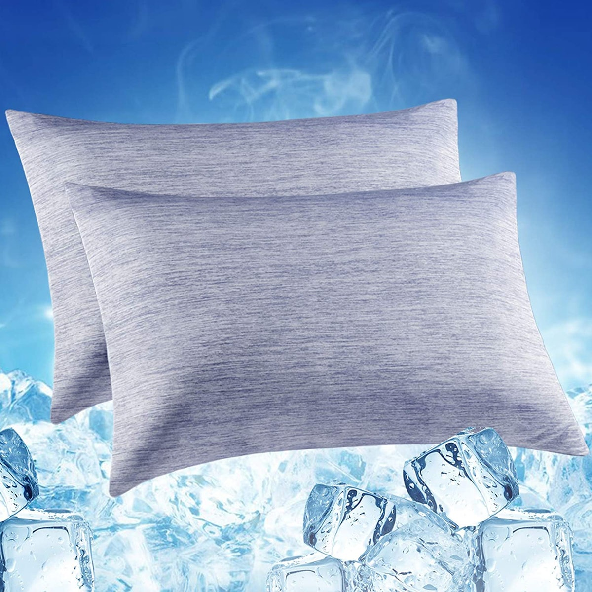 LUXEAR Cooling Pillowcases (Set of 2)