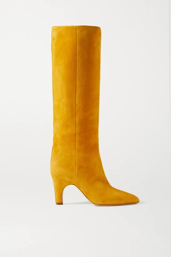 Luther suede knee boots