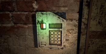 the medium door code four digit puzzle