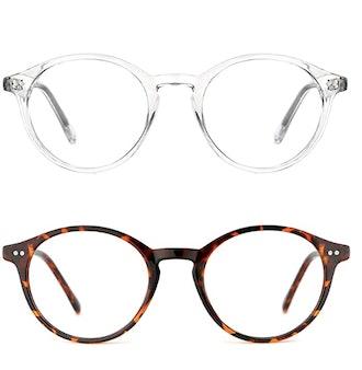 TIJN Blue Light Blocking Glasses (2-Pack)