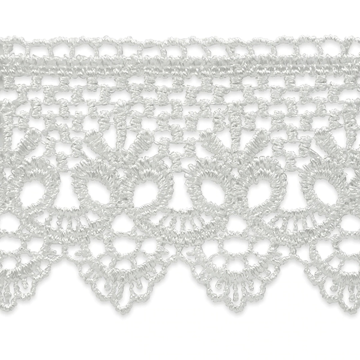 Trims by the Yard Scallop and Bow Lace Trim