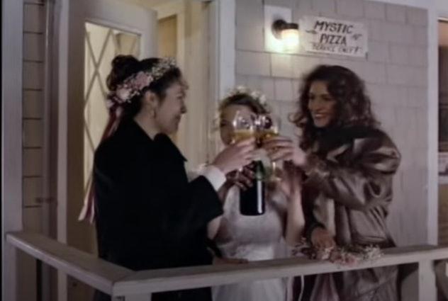 Julia Roberts stars in the 1988 film, 'Mystic Pizza'.