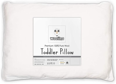 Woolino Wool Toddler Pillow (14 x 19 inches)