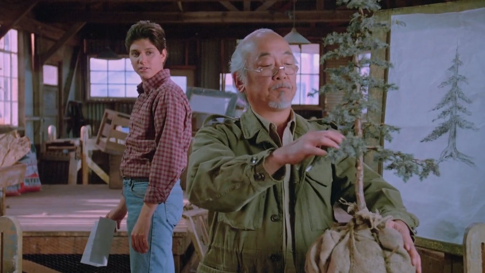 mr miyagi in karate kid 3