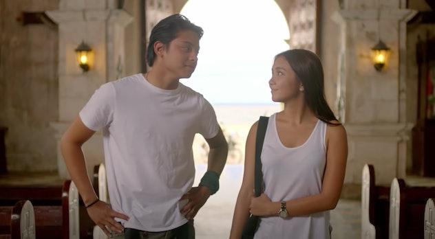 'Can't Help Falling In Love' is a filipino international film on Netflix.